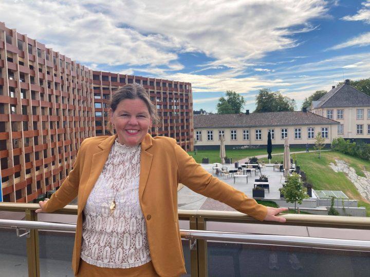 Direktør Jorunn Sem Fures museumshack