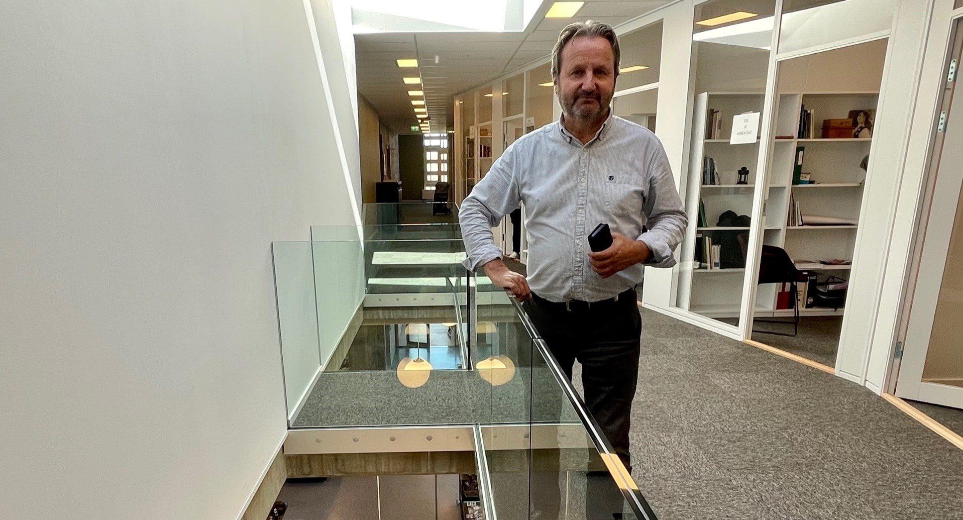 Bjørn Rudborg tar deg med på spesialomvisning i det nye museumsbygget 18. sept
